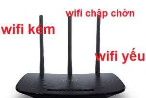 wifi chập chờn