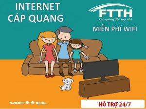 Tư vấn gói cước internet viettel cho hộ gia đình ở Bình Dương